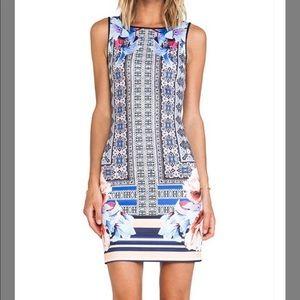 Clover Canyon Byzantine Scarf Casual Dress